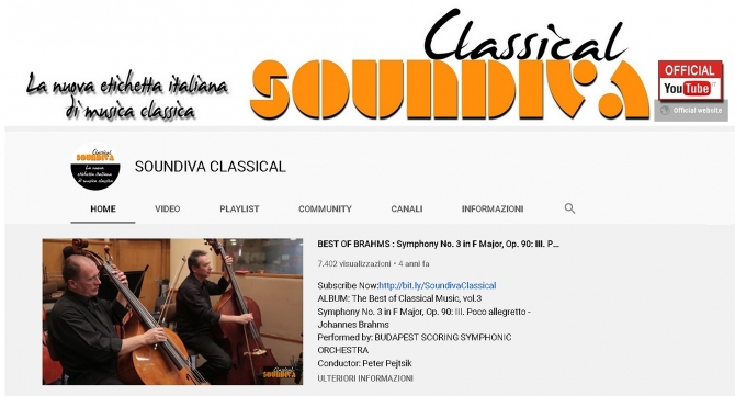 "Official YOUTUBE ""Soundiva Classical"" - SOUNDIVA (Music  & Services)"